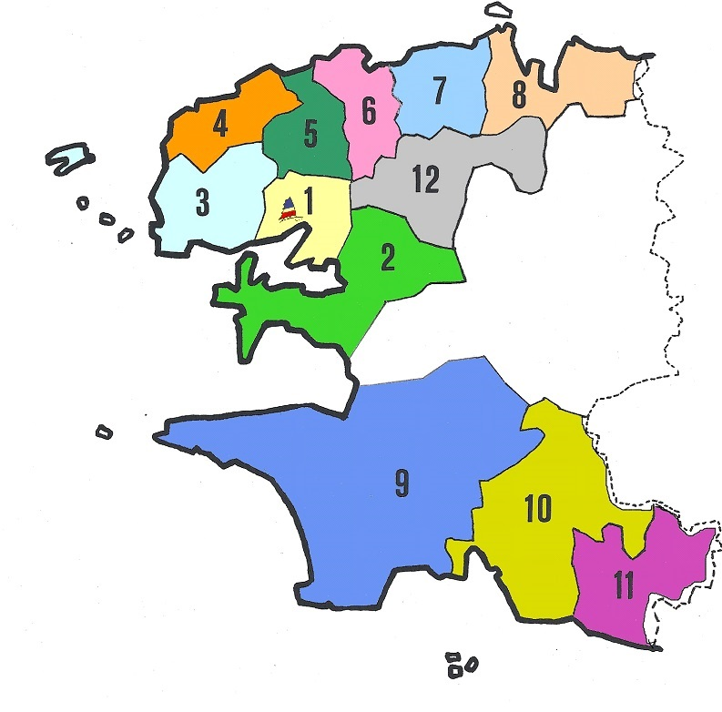 carte secteurs associations locales