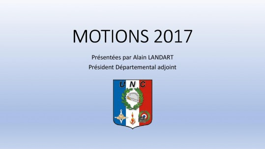 MOTIONS 20171